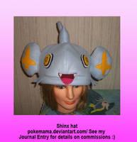 Shinx hat by PokeMama