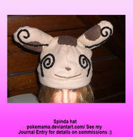 Spinda hat by PokeMama