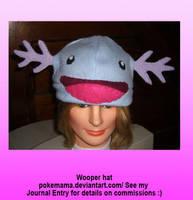 Wooper hat by PokeMama