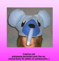 Cubchoo hat by PokeMama