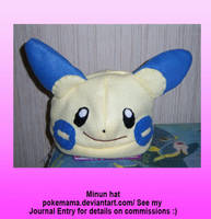 Minun hat by PokeMama