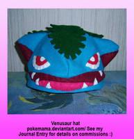 Venusaur hat by PokeMama