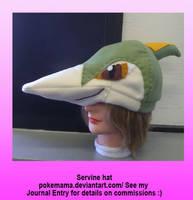 Servine hat by PokeMama