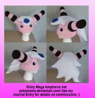 Shiny Mega Ampharos hat by PokeMama