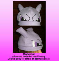 Mewtwo hat by PokeMama