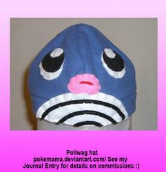 Poliwag hat by PokeMama