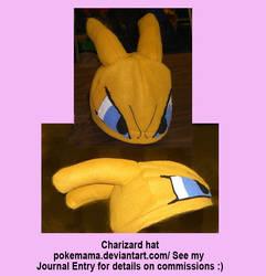 Charizard hat by PokeMama