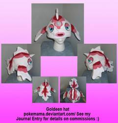 Goldeen hat by PokeMama