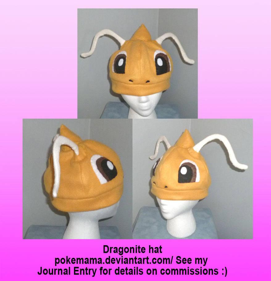 Dragonite hat by PokeMama
