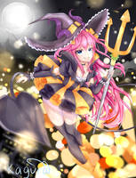 Halloween Lights by kagura-yuukii
