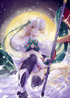 Merry Xmas! (Santa Lily) by kagura-yuukii