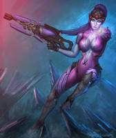 Widowmaker Overwatch by itzaspace