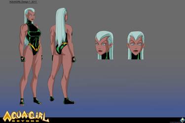 Aquagirl Beyond design v1 by SuperSaiyan3Scooby