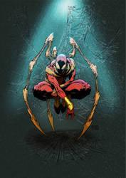 Iron Spider by greenjaygraphic