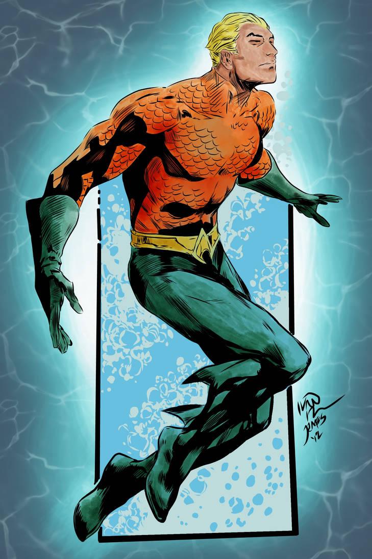 Aquaman by greenjaygraphic