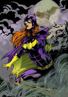 Batgirl by greenjaygraphic