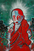 Urban Monk by MalcolmBlaisdell