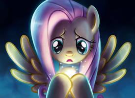 Fluttershy's emotive dream by Light262