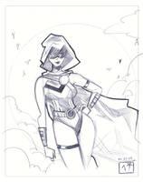 ReVamp - Pen Sketch by MichaelCrichlow
