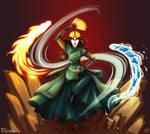 Avatar Kyoshi by Getsuart