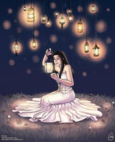 Lanterns by Getsuart