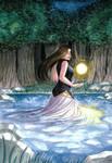 Echo in water by Getsuart