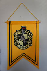 Hufflepuff Banner Flag by Prue126