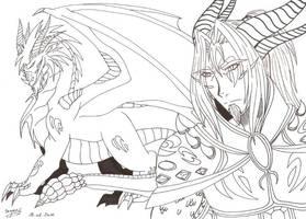 Elestos, the blue dragon by Seto01