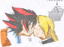 Seto and Edward kissing by Seto01
