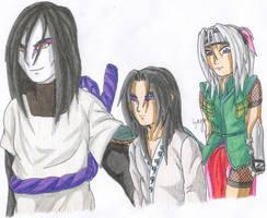 Orochimaru saya and ...Shiro by Seto01