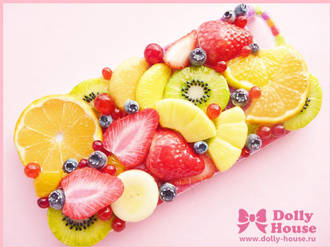 iPhone 5 case -Fruits Symphony 4- by Dolly House by SweetDollyHouse