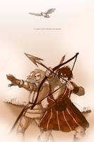 APH: Auld Alliance by claudiakat