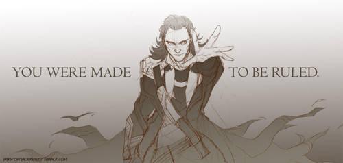 Loki: To be Ruled by claudiakat