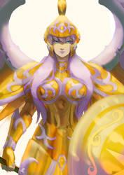 Goddess Cloth by claudiakat