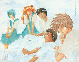 Evangelion- Children of Eva by claudiakat