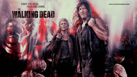 The walking dead Carol and Daryl Wallpaper by HappinessIsMusic