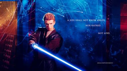 Star Wars Anakin Skywalker 02 by HappinessIsMusic