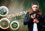 Jensen Ackles blend 05 by HappinessIsMusic