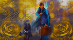 Newt Scamander wallpaper 04 by HappinessIsMusic