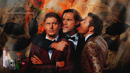 Supernatural wallpaper 10 by HappinessIsMusic