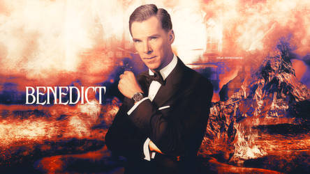 Benedict cumberbatch wallpaper 77 by HappinessIsMusic