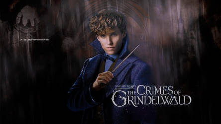 Newt Scamander wallpaper 5 by HappinessIsMusic