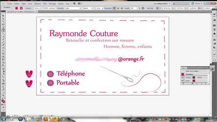 KittyaNeCo 0 Carte De Visite Pour Atelier Couture By