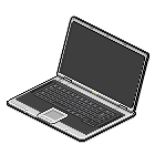 Laptop by blissard