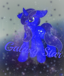 SpeedPaint #10 Galaxy Star by CrystalHeartlight