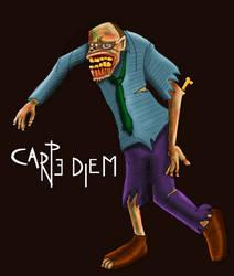 super Zombie ilustrado by ricksd