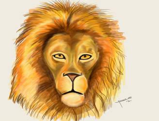 Lion Portrait by ricksd
