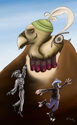 Airka y el Dios Buitre by ricksd
