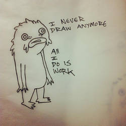 Never Draw by atomier