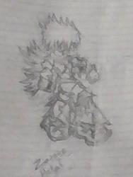 Zasuke Drawing by ZasukeHakai